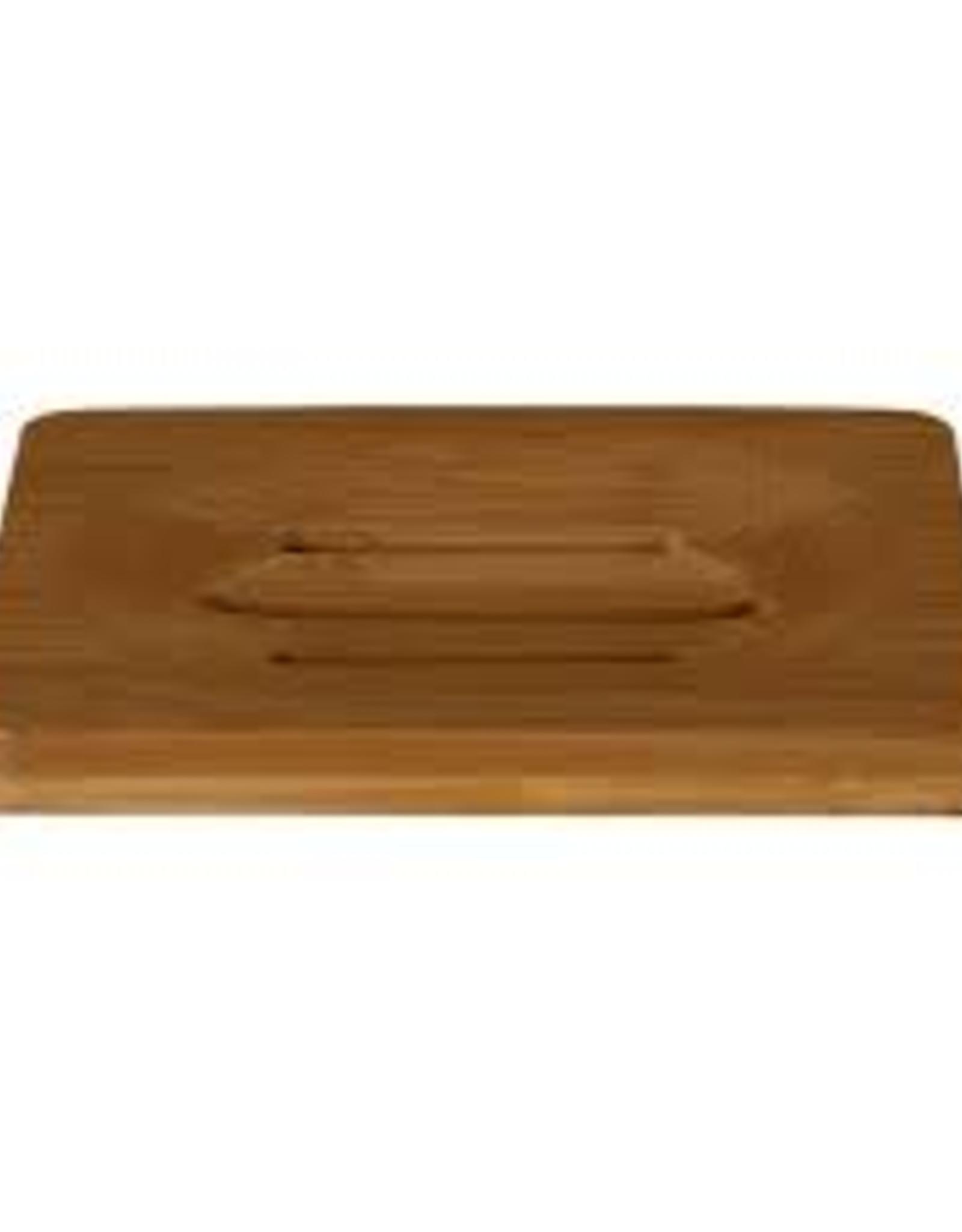 HappySoaps Zeep Houder van Bamboe voor één Shampoo Bar - HappySoaps