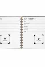 House of Products Baby Book Grey Linen (ENG)