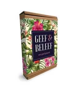 """Geef & Beleef doosje Een goed Gesprek """"Bloemen"""""""