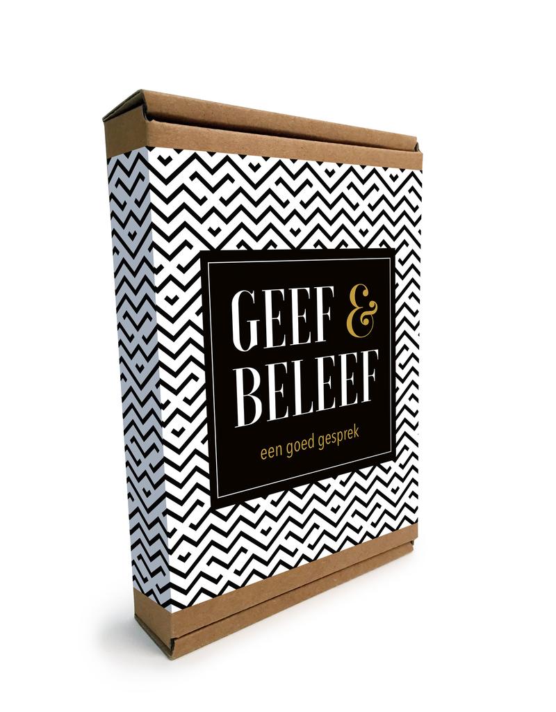 """Geef & Beleef doosje Een goed Gesprek """"Zwart/Wit"""""""