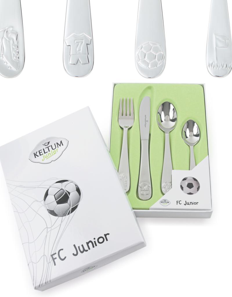 Keltum Kinderbestek FC Junior 4-delig - Keltum