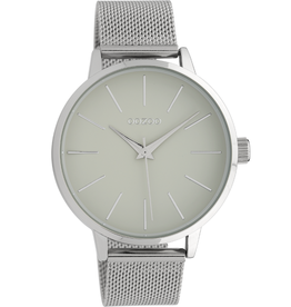 OOZOO Horloge C10005 lichtgrijs 42mm - OOZOO