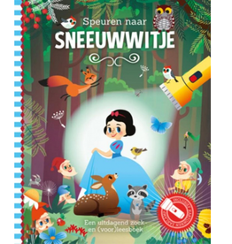 Zaklampboek - Speuren naar Sneeuwwitje