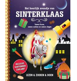 Zaklampboek - Het heerlijke avondje van Sinterklaas