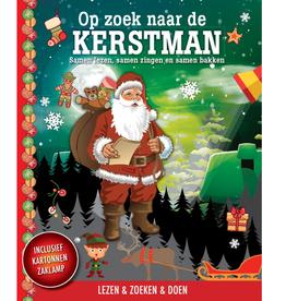Zaklampboek - Op zoek naar de Kerstman