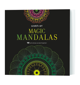 Magic Mandalas - Scratch Art