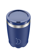 Chilly's Bottles Chilly's Coffee Cup Blue Matte 340ml - Chilly's Bottles