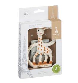 Sophie de Giraf Sophie de giraf bijtring Soft in wit geschenkdoosje