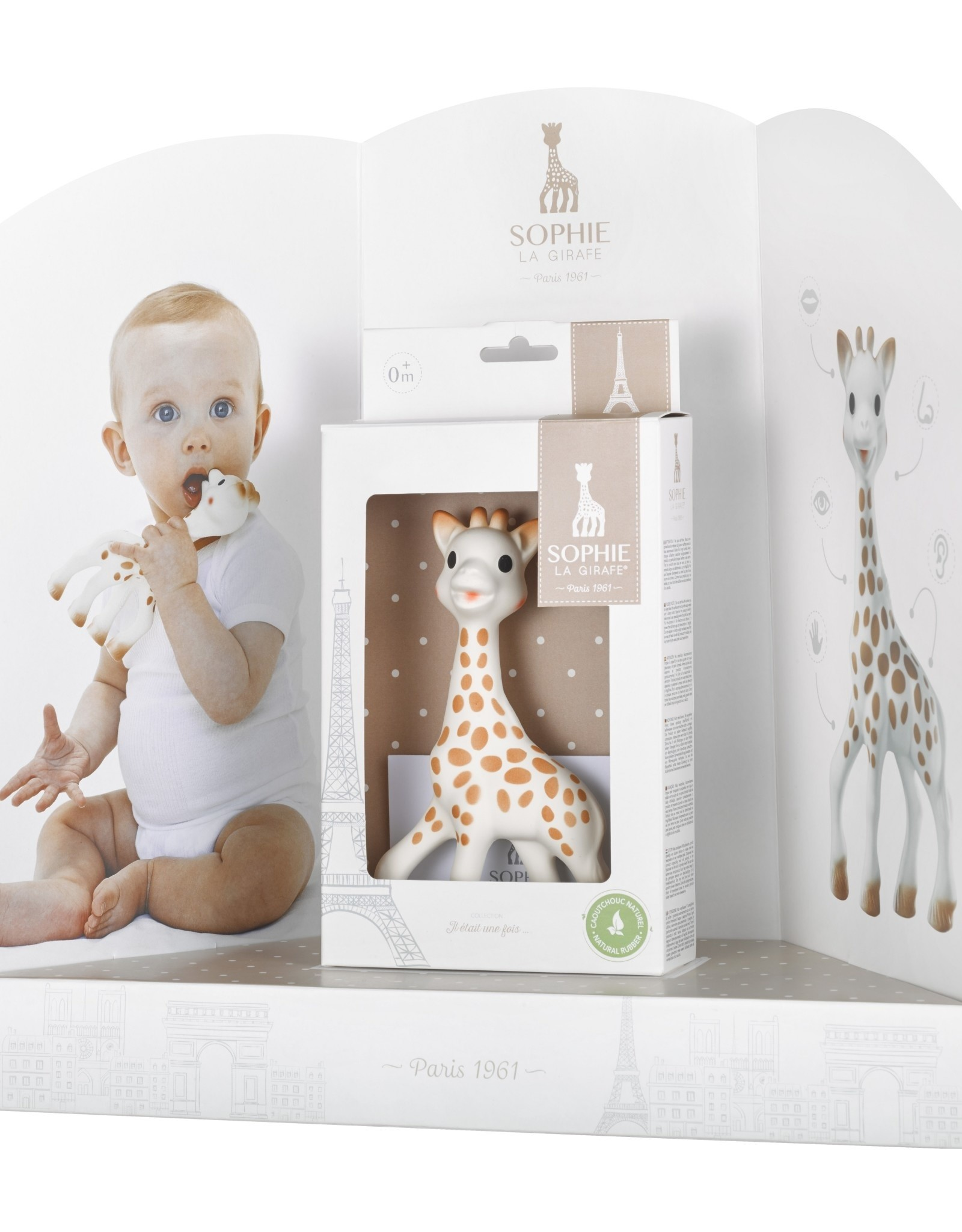 Sophie de Giraf Sophie de Giraf in witte Geschenkdoos - Sophie de Giraf