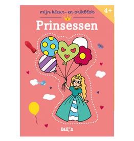 Mijn Kleur- en Prikblok Prinsessen +4jr