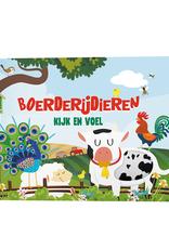 Kijk en voel - Boerderijdieren - Lantaarn Publishers
