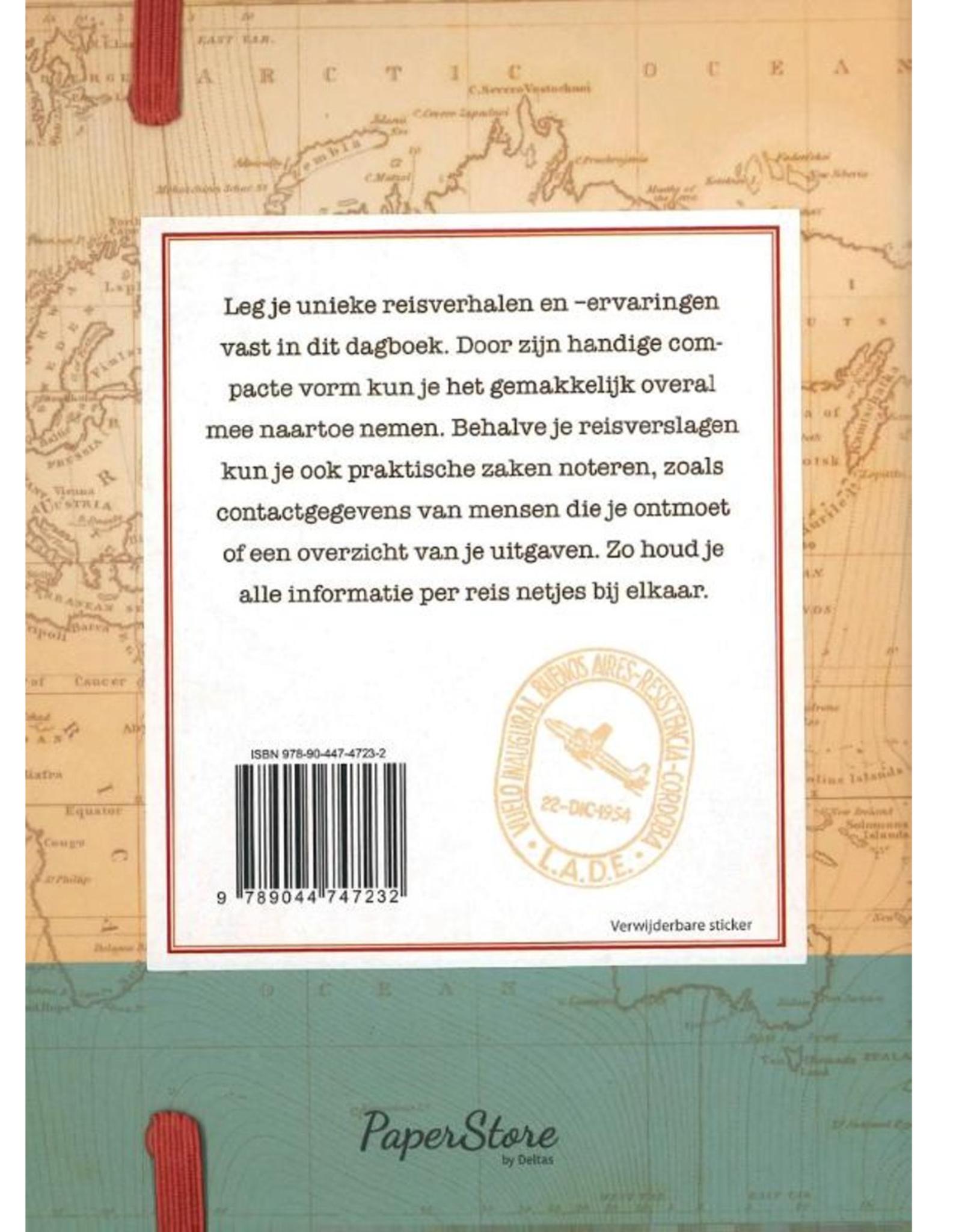 Deltas Mijn Reisdagboek - Deltas