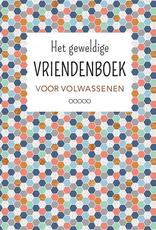 """Het Geweldige Vriendenboek voor Volwassenen """"blauw/roze"""" - Deltas"""