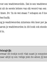 Wachtwoorden Notitieboek geel - Deltas