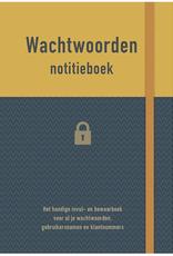 Deltas Wachtwoorden Notitieboek geel - Deltas