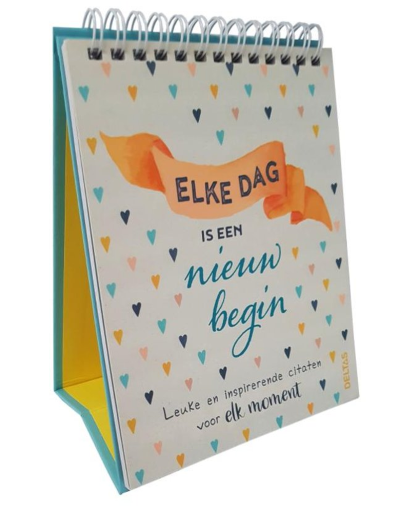 Elke dag is een nieuw Begin - Deltas