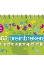 365 Breinbrekers en Geheugenspelletjes - Deltas
