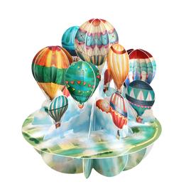 Santoro London Luchtballonnen - Santoro Pirouettes