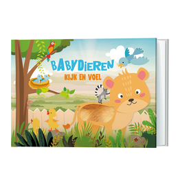 Kijk en voel - Babydieren - Lantaarn Publishers