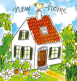 Blond Amsterdam New Home - Wenskaart Blond Amsterdam