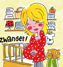 Blond Amsterdam Zwanger! - Wenskaart Blond Amsterdam