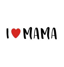I Love Mama - Wenskaart