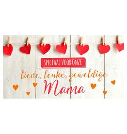 Speciaal voor onze Lieve, leuke, geweldige Mama - Wenskaart