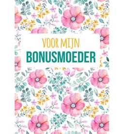 Voor mijn Bonusmoeder - Wenskaart