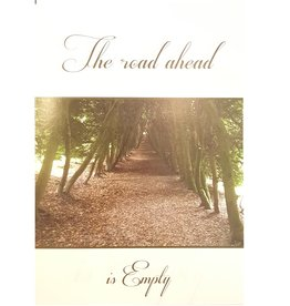 The Road Ahead is Empty - Wenskaart Compassion