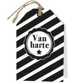 Wenskaart Van Harte - Rebel30