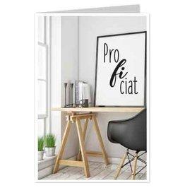 Wenskaart Proficiat - Casa Collection