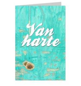 Wenskaart Van harte - Casa Collection