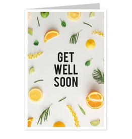 Wenskaart Get Well Soon - Casa Collection