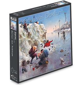 "Puzzel ""Ijspret"" Marius van Dokkum 48,5x54cm / 1000 pcs"