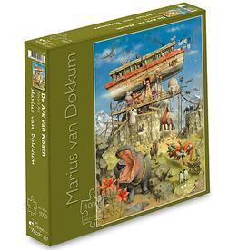"""Puzzel """"De Ark van Noach"""" Marius van Dokkum 48,5x68cm / 1000 pcs"""