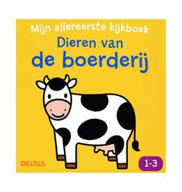 Mijn Allereerste Kijkboek - Dieren op de boerderij - Deltas