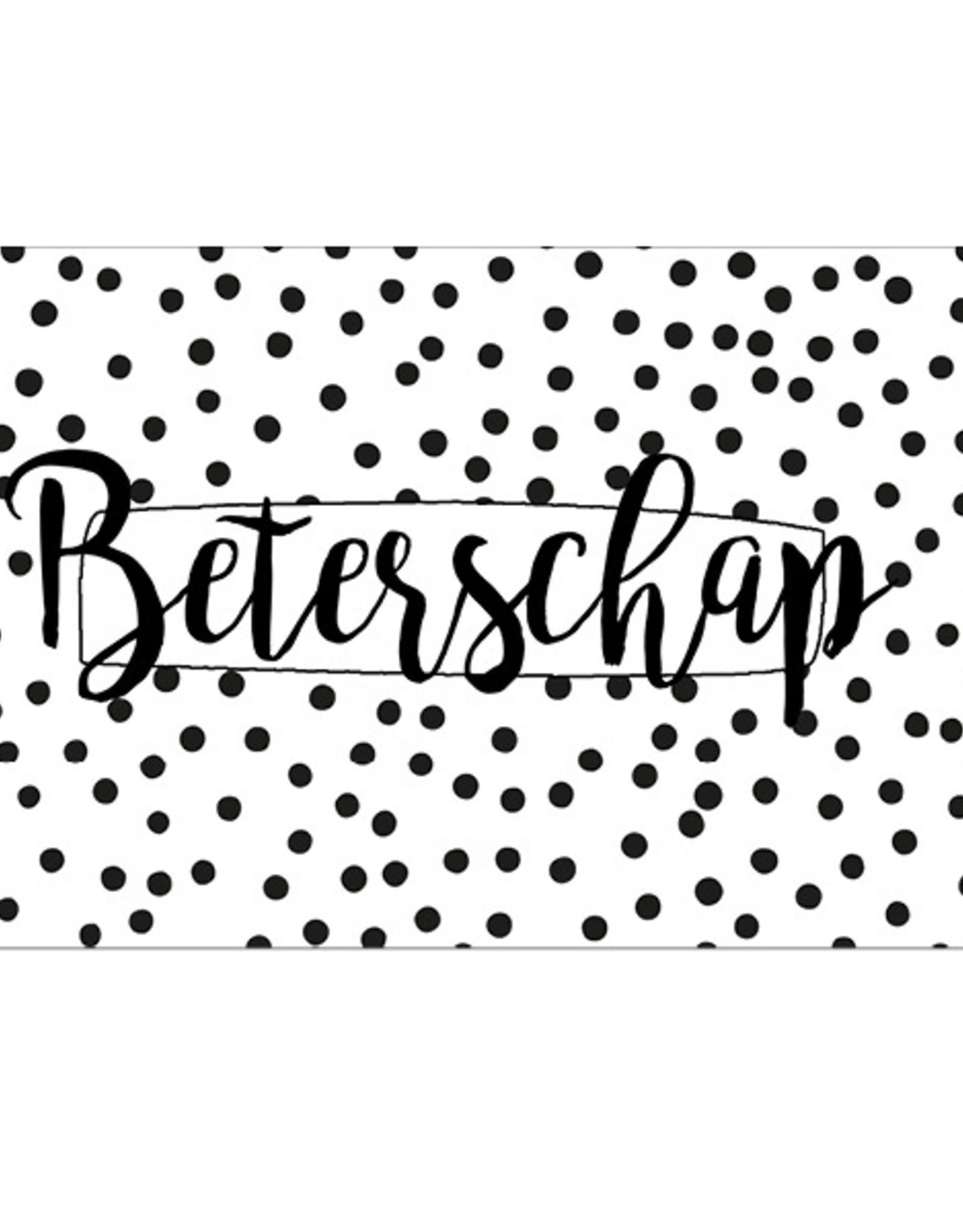 Beterschap -  Wenskaart Cheesecake