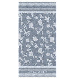 Laura Ashley Hamamdoek Elveden Midnight 90x180cm - Laura Ashley