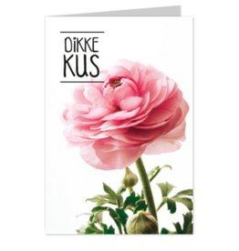 Wenskaart Dikke Kus - Casa Collection