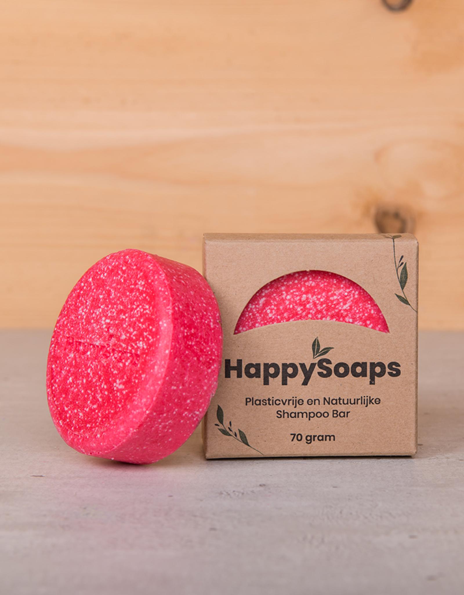 HappySoaps Cinnamon Roll Shampoo Bar 70gram - HappySoaps