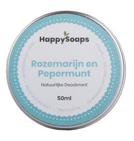 HappySoaps Deodorant Rozemarijn en Pepermunt - HappySoaps