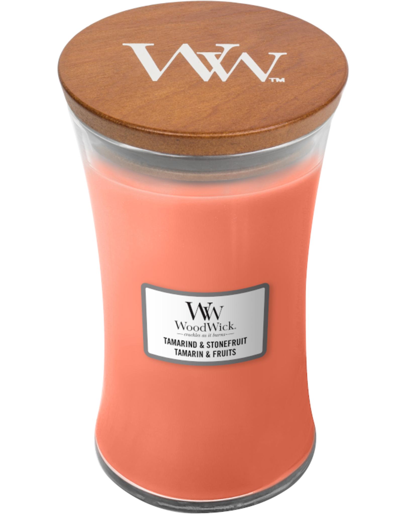"WoodWick Kaars WoodWick ""Tamarind & Stonefruit"" Large - WoodWick"