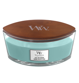 "WoodWick Kaars WoodWick ""Blue Java Banana"" Ellipse - WoodWick"