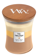 "WoodWick Kaars WoodWick ""Golden Treats"" medium - WoodWick"