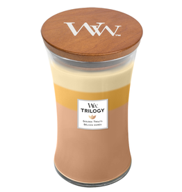 "WoodWick Kaars WoodWick ""Golden Treats"" Large - WoodWick"