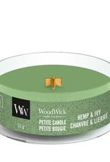 """WoodWick Kaars WoodWick """"Hemp & Ivy"""" Petite - WoodWick"""