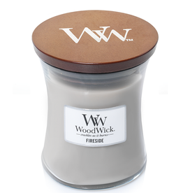 "WoodWick Kaars WoodWick ""Fireside"" medium - WoodWick"