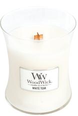 """WoodWick Kaars WoodWick """"White Teak"""" medium - WoodWick"""