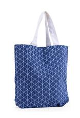 Katoenen Tas Trangle Denim Blauw 39,5x11x37,5 cm