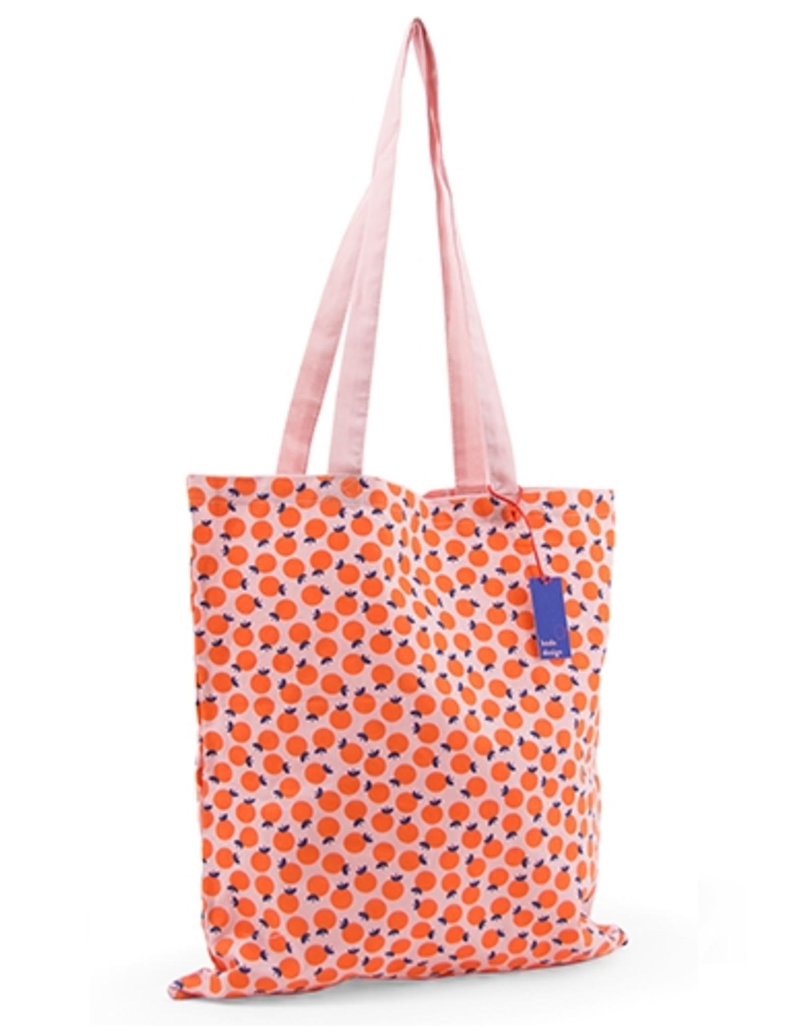 Katoenen Tas Oprolbaar Naranja 37x41x+2 cm